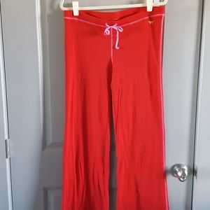 Victoria Secret Pink red lounge pants